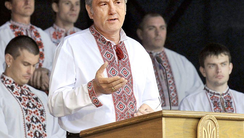 Ukrainian President Viktor Yushchenko.