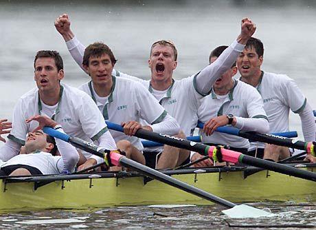 Hätten diese tapferen Ruderer aus Cambridge das Oxford-Team dieses Jahr auch ohne Zapf-Training geschlagen?