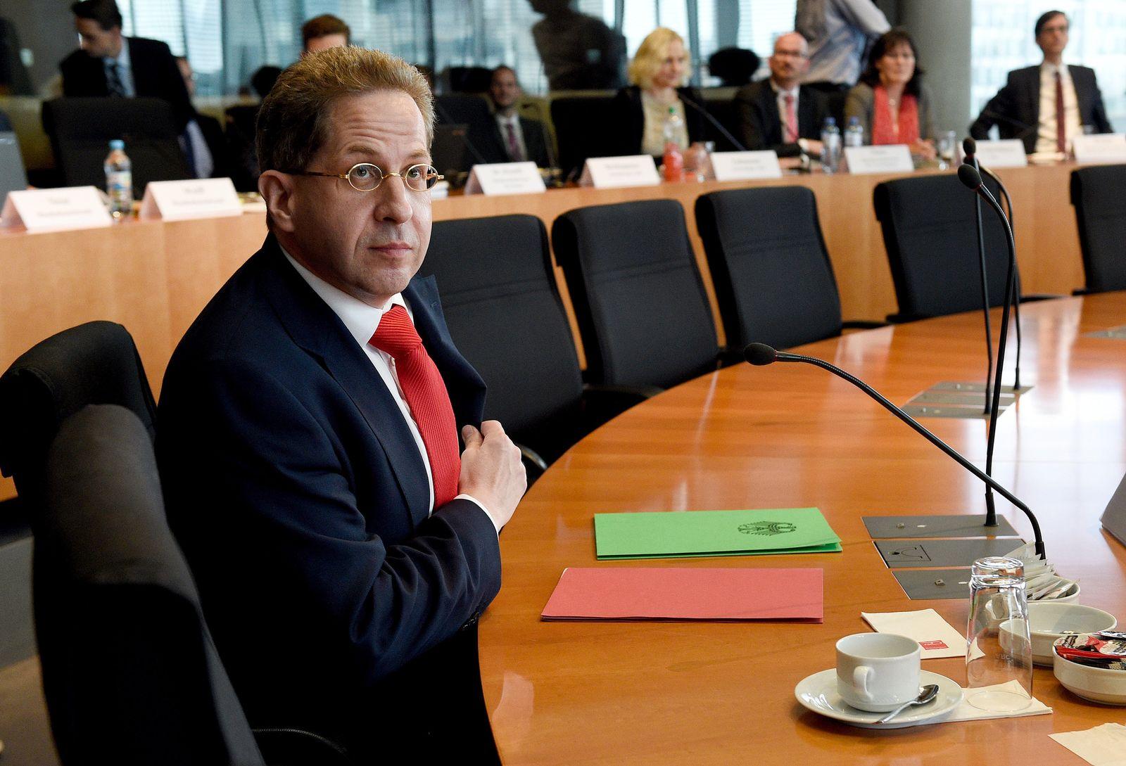 NSA Untersuchungsausschuss Hans-Georg Maaßen BfV