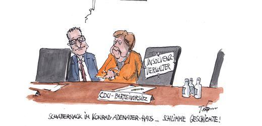 Cartoons der Woche von Thomas Plaßmann und Klaus Stuttmann