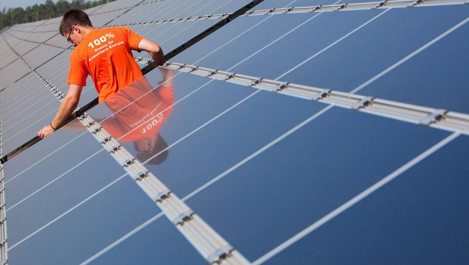 Fotovoltaik-Kraftwerk: Existenzen bedroht