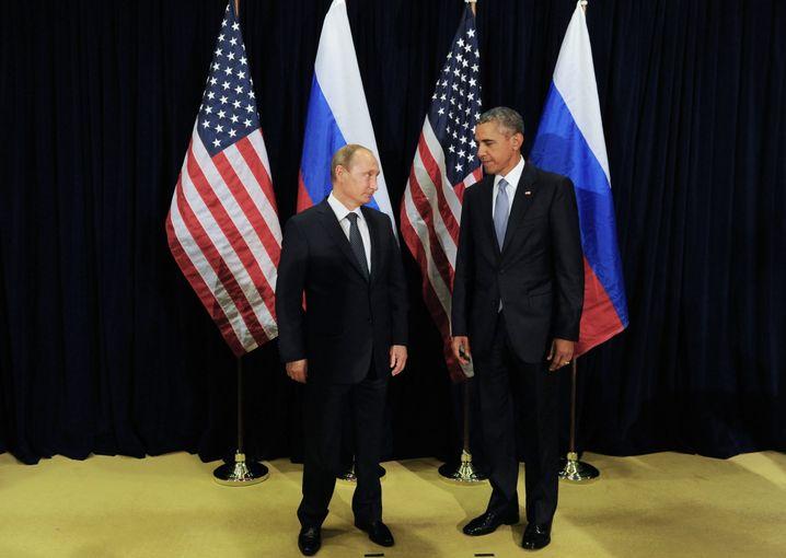 Putin, Obama: Russland und die USA müssen aus Gabriels Sicht miteinander reden