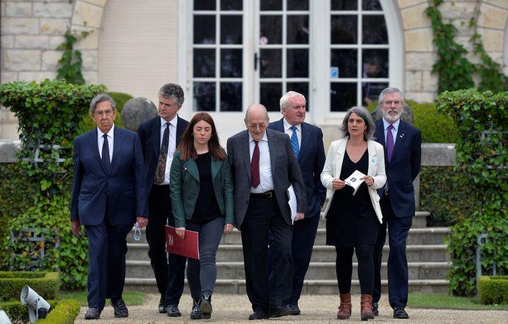 Konferenzteilnehmer in Cambo-les-Bains