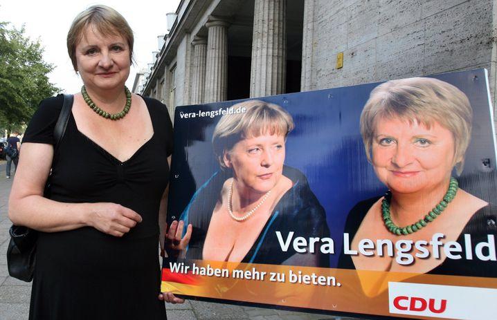 Vera Lengsfeld, im September 2009, als sie noch Merkels Politik stützte