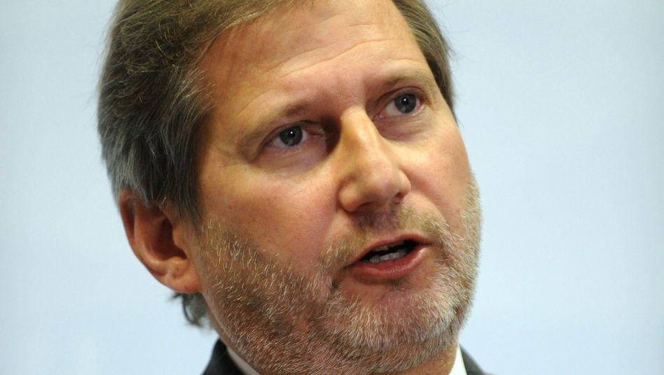 Johannes Hahn, EU-Kommissar für Erweiterungsverhandlungen: Gefälschte Postings