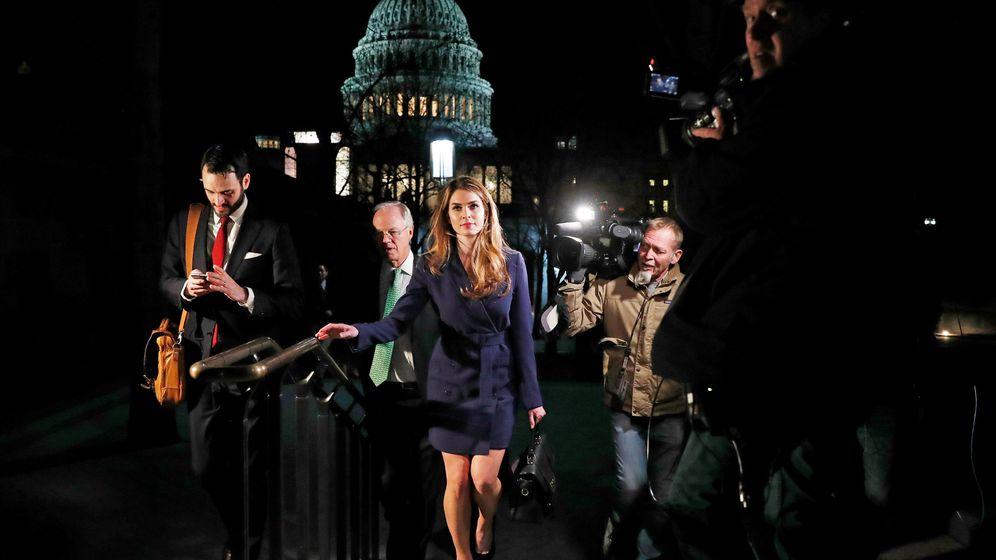 Hope Hicks im Weißen Haus