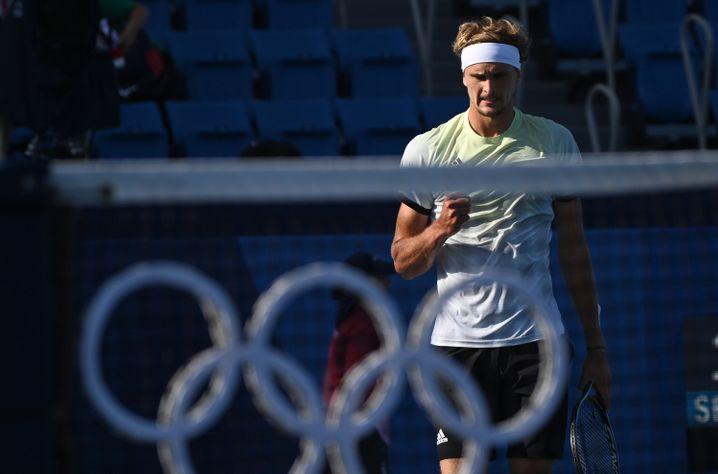 Alexander Zverev zeigt sich in Tokio bislang in Topform
