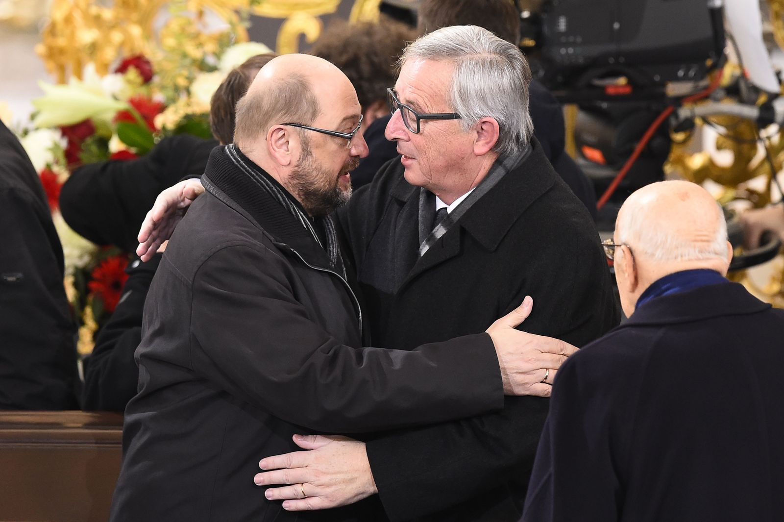 GERMANY-POLITICS-SCHMIDT-FUNERAL