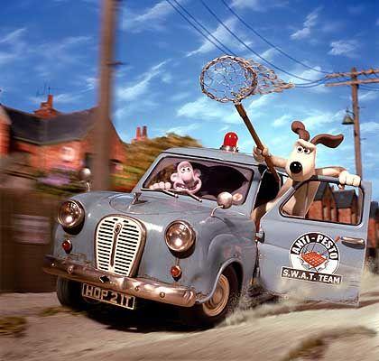 Knetfiguren: Wallace und Gromit sind die wohl bekanntesten analogen Trickfilmhelden