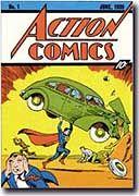 """""""Action Comic"""" von 1938: Fliegen konnte er damals nicht, nur springen"""