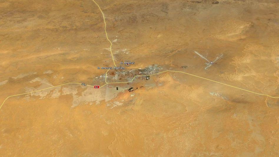 Wüstenstadt Ain Amenas an der Grenze zu Libyen: Entführung von Ausländern