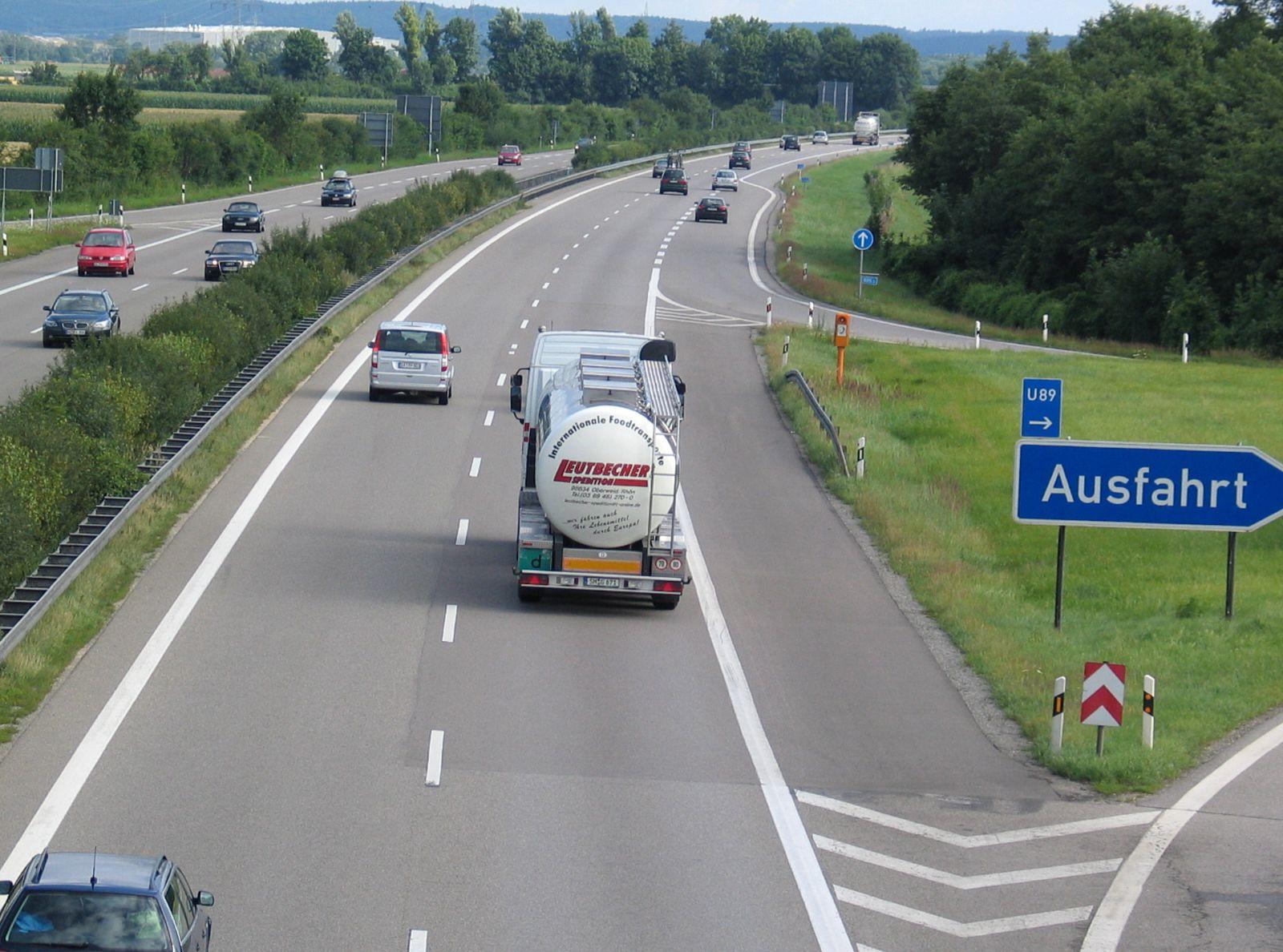 NICHT VERWENDEN Autobahn