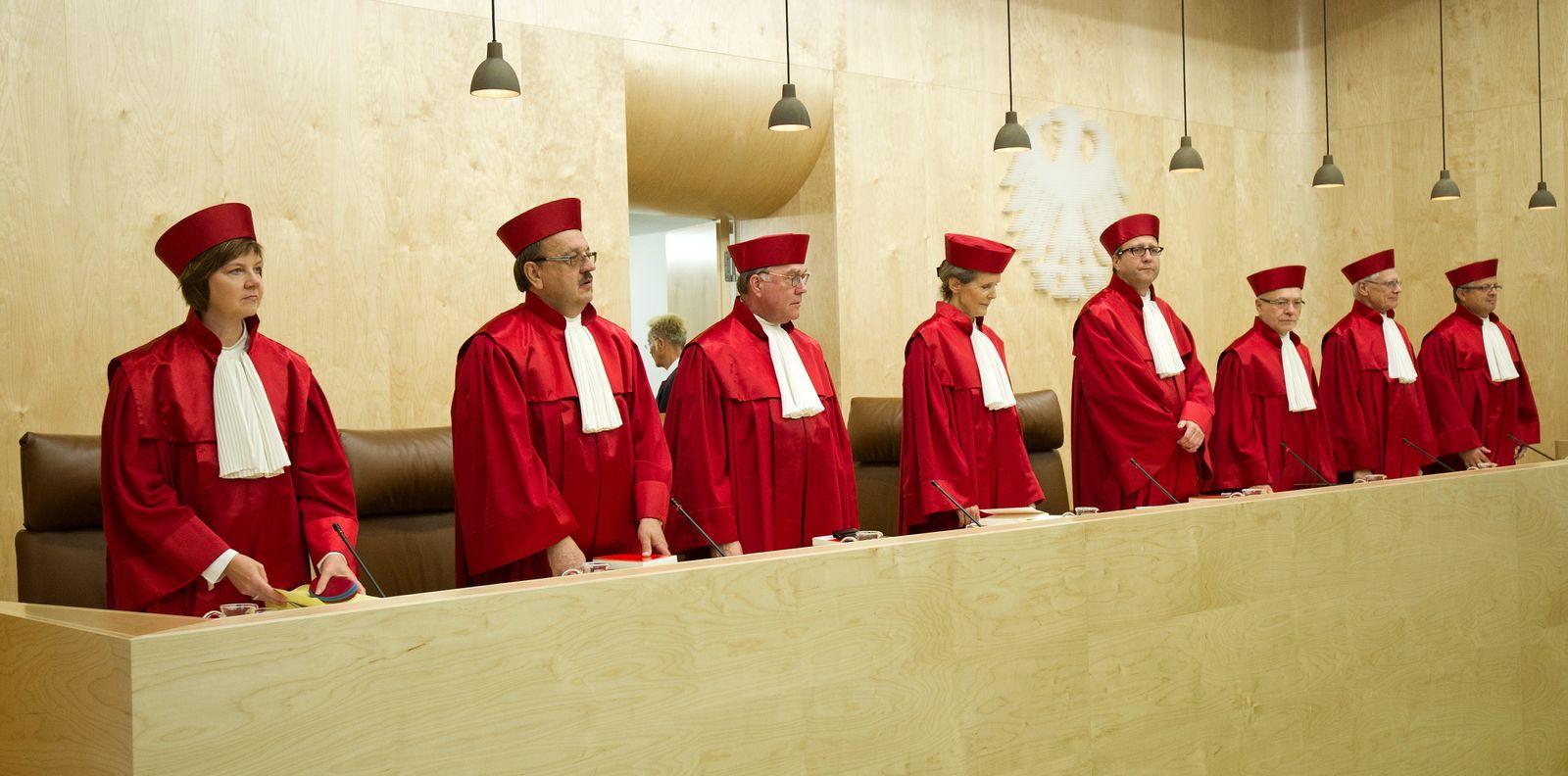NICHT VERWENDEN Bundesverfassungsgericht richter