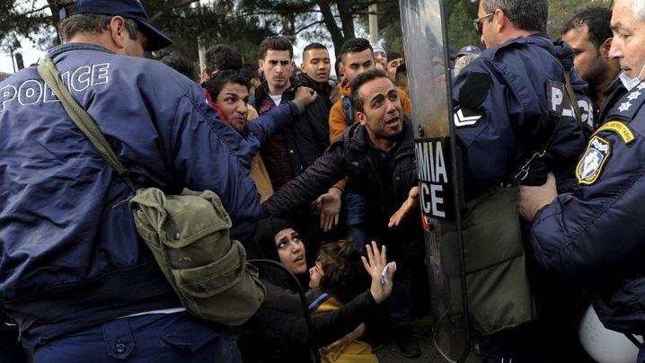 Flüchtlinge auf der Balkanroute: Gestrandet zwischen allen Grenzen