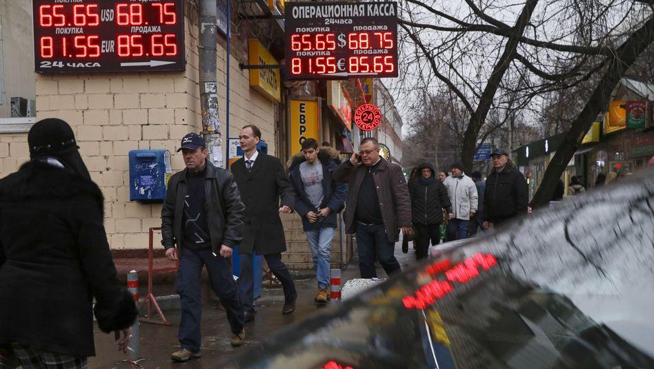 Rubel-Crash: Russlands Wirtschaft droht der Kollaps