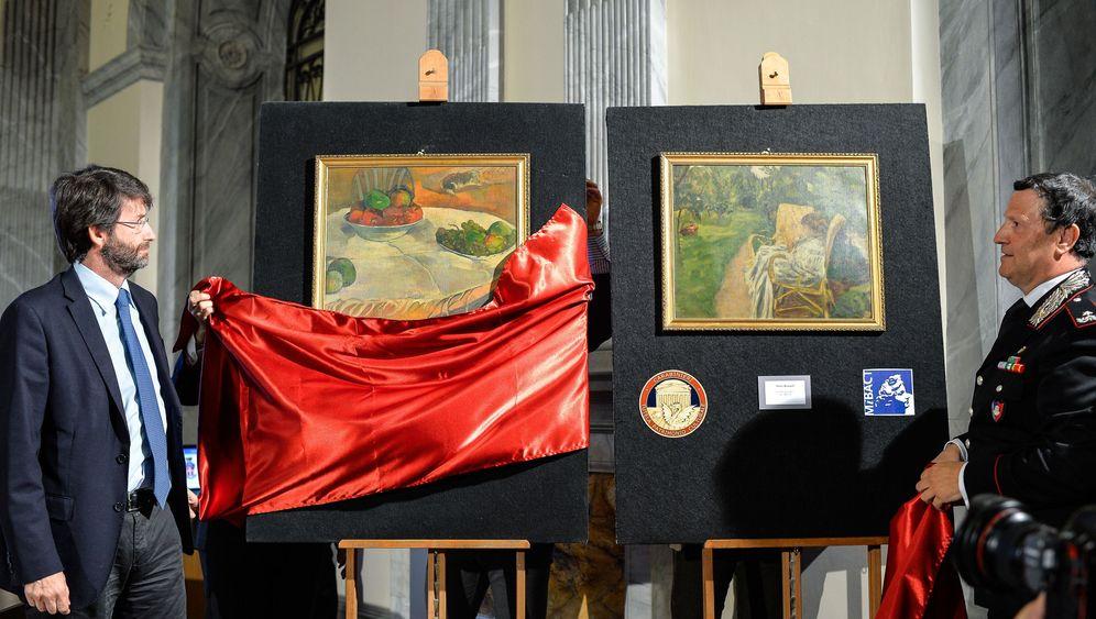 """Kunstfund in Italien: """"Ich habe mich sofort in die Bilder verliebt"""""""
