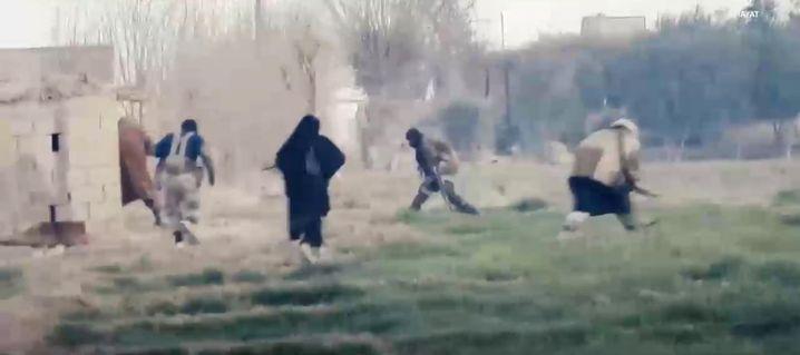 Szene aus IS-Video