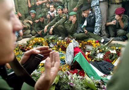 Grabstätte in der Mukata: Nach palästinensischen Wünschen soll dies nicht Arafats letzte Ruhestätte sein