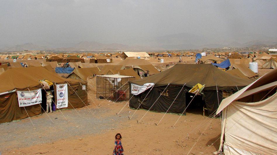 Jemen-Krieg: Dutzende Tote bei Luftangriff auf Flüchtlingslager