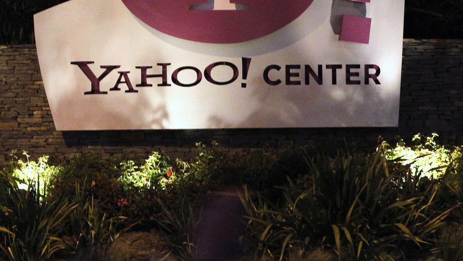 Yahoo-Logo in Santa Monica, Kalifornien: Bis zu fünf Milliarden Dollar in Aktienrückkauf