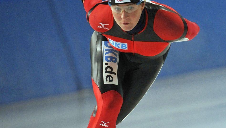 Eisschnellläuferin Pechstein: Rennstart in Hamar geplatzt