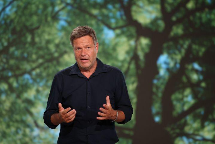 Habeck beim Grünen-Parteitag in Berlin