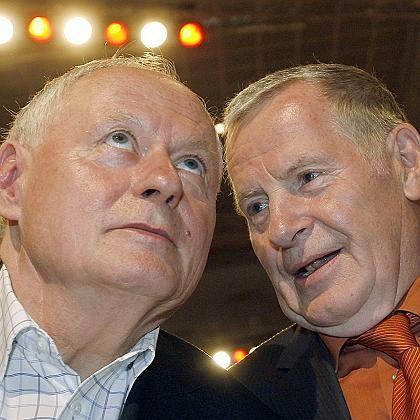Oskar Lafontaine und Lothar Bisky: Designierte Doppelspitze