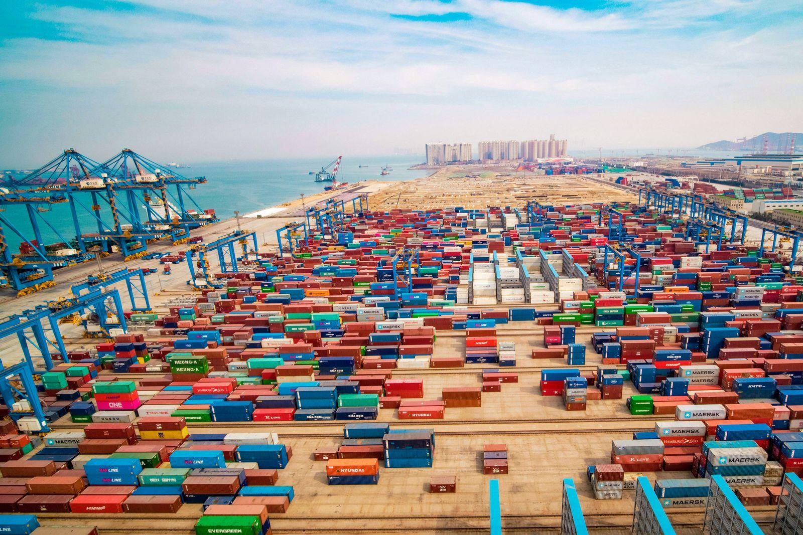 CHINA Handel Export / Import / USA