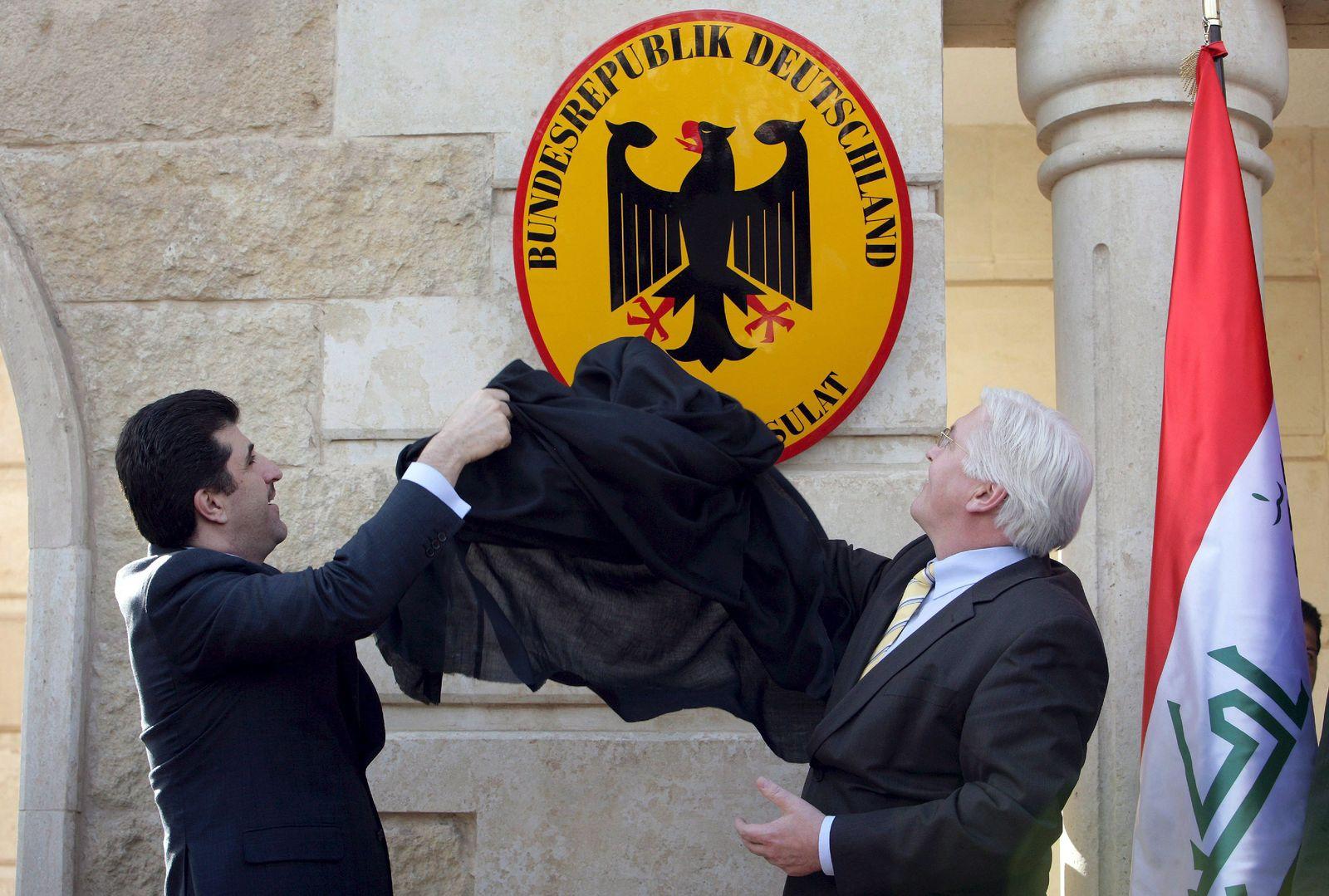 EINMALIGE VERWENDUNG Deutsches Generalkonsulat Erbil