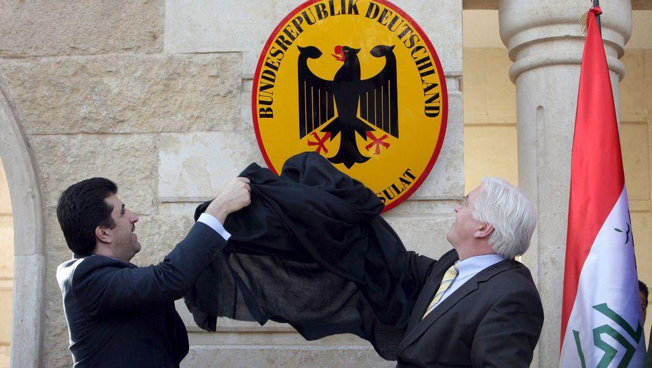 Einweihung des Generalkonsulats in Erbil (2009)