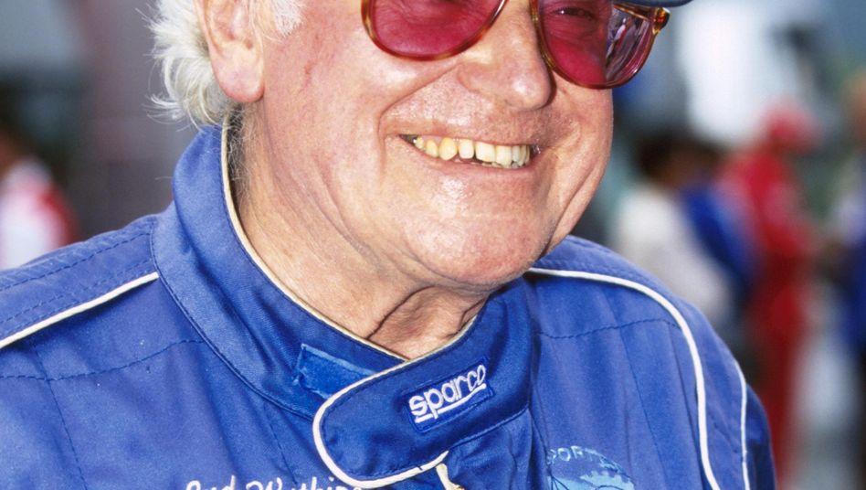 Sid Watkins (Aufnahme von 1997): Rettete vielen Fahrern das Leben