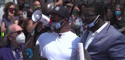 """George Floyds Bruder will friedlichen Protest: """"Wir sind viele"""""""