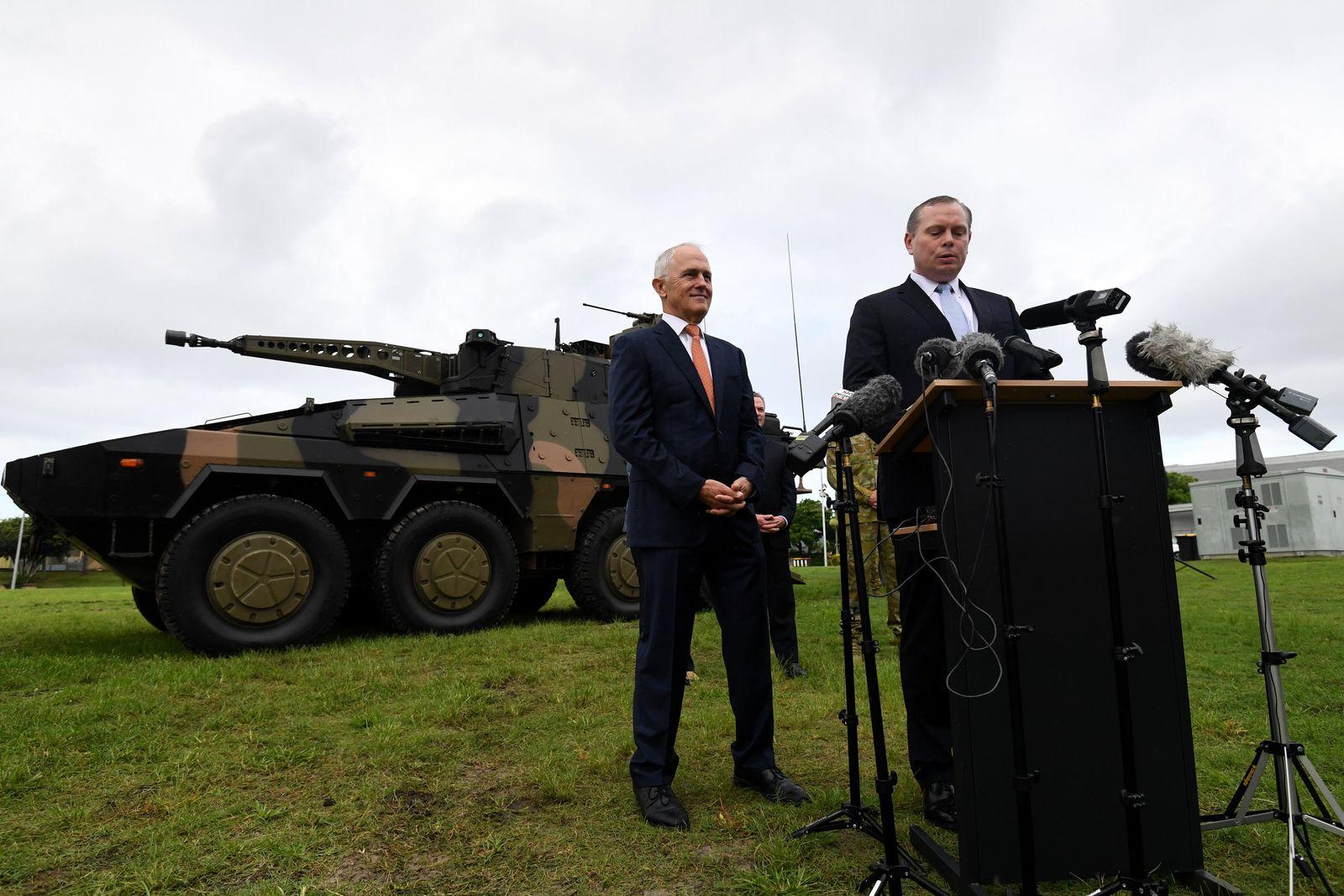 Truppenbesuch des australischen Ministerpräsidenten