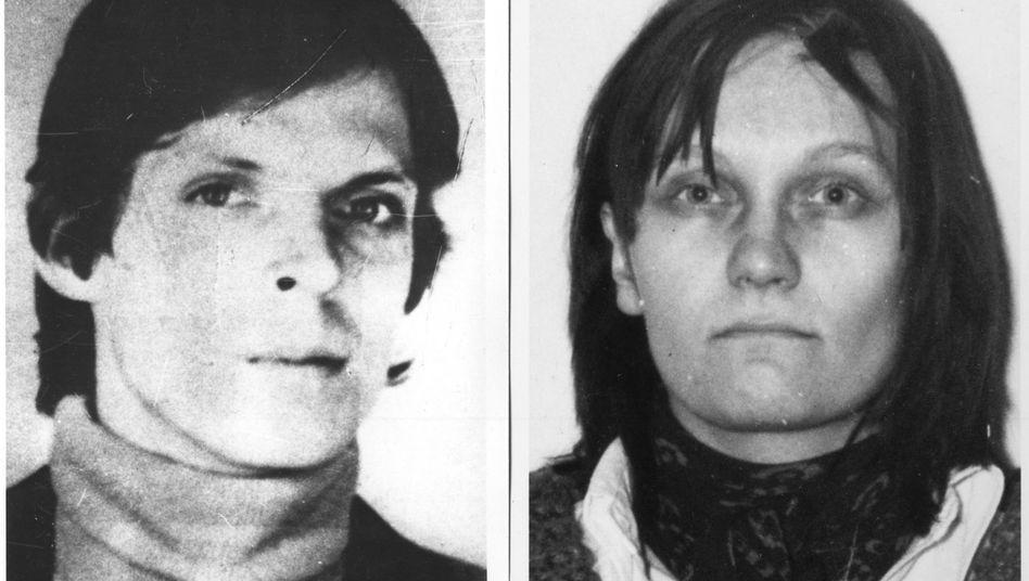RAF-Terroristen Christian Klar, Brigitte Mohnhaupt