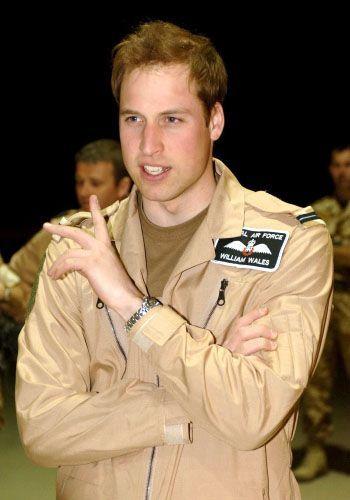 Prinz William (hier bei früherem Einsatz in Afghanistan): Neues Einsatzziel - Karibik.