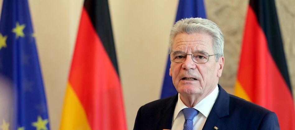 Bundespräsident Gauck: Will Linken-Politiker Müller nicht hinter Gittern sehen