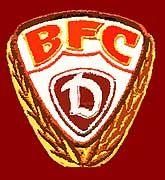 Das Vereinswappen des BFC Dynamo Berlin