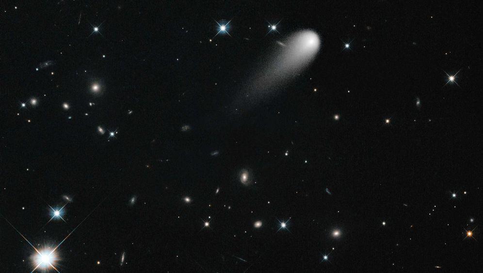 """Kamikaze-Komet: """"Ison"""" beginnt zu zerbrechen"""