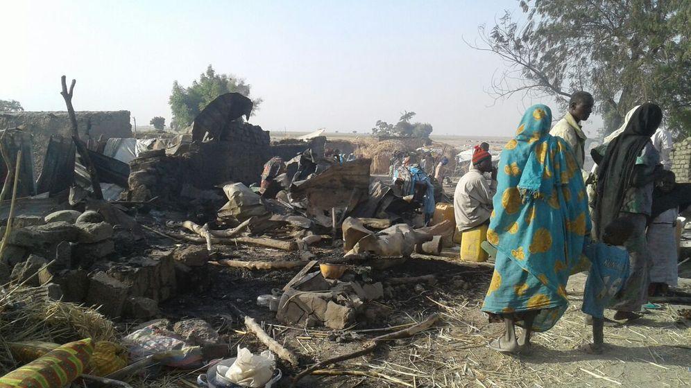Vsehentlicher Luftangriff: Nigerias Militär tötet 50 Zivilisten