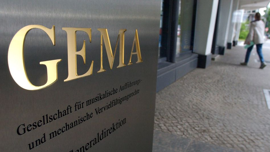 Gema-Büro in Berlin: Website blockiert, Verhandlungen abgebrochen
