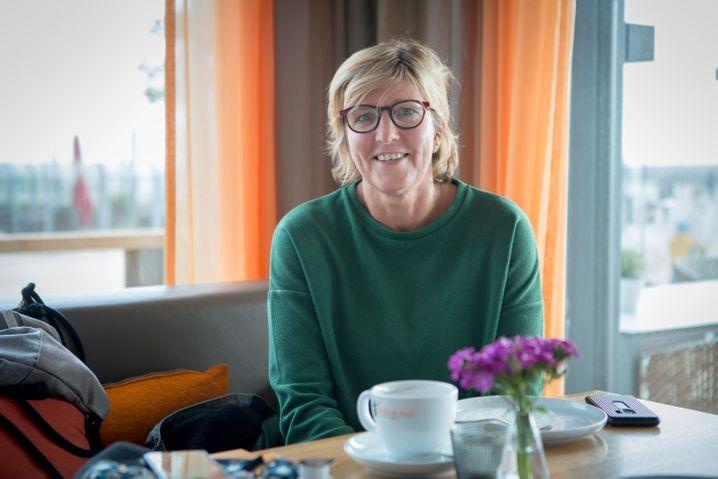 Kiki Chouman aus Hannover: Ausgehen in ein Restaurant, Kaffeetrinken am Nachmittag, das gehört für sie zum Urlaub dazu. Eigentlich