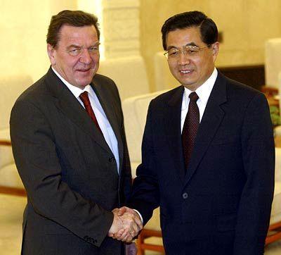 Schröder in China: Frust über den Spontan-Kanzler