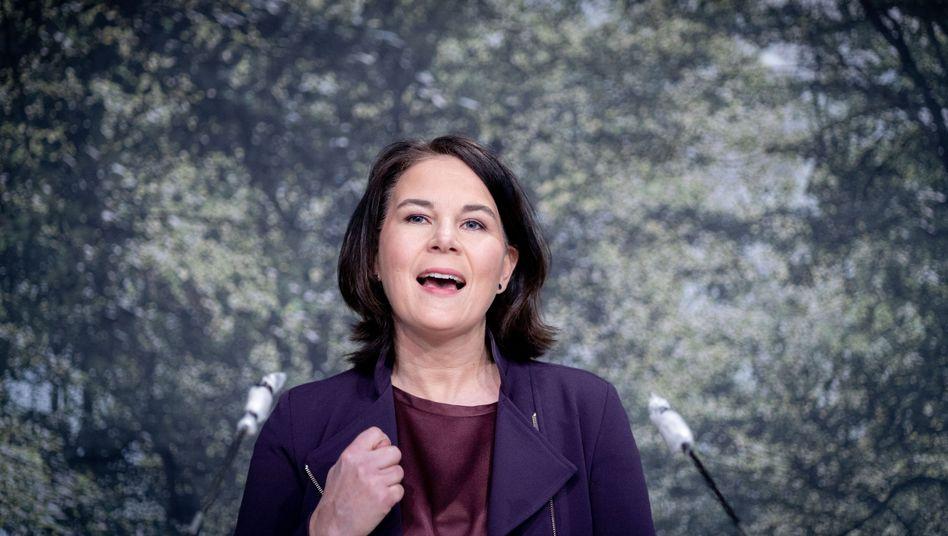Grünenchefin Baerbock: Sie steht in Brandenburg auf Platz eins der Landesliste
