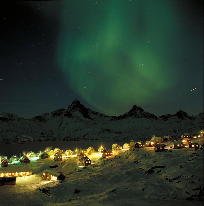 Nordlicht in Grönland