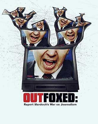"""Plakat """"Outfoxed"""": 100.000 Mal als DVD und Video verkauft"""