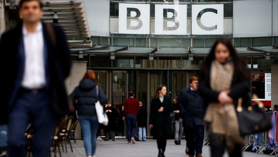 In China nicht mehr (gern) gesehen: Zentrale des britischen Senders BBC in London