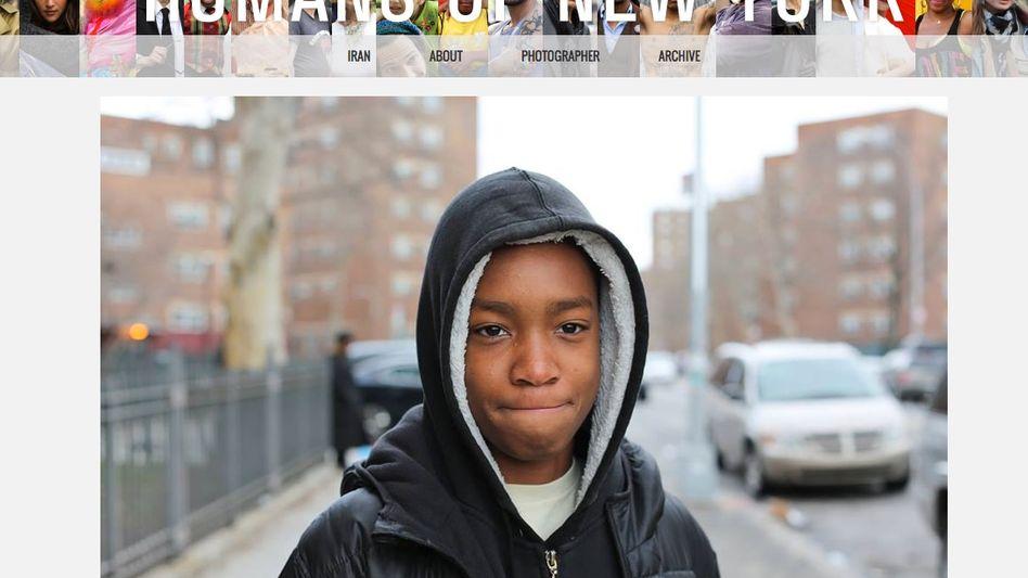 "Fotoblog ""Humans of New York"": Brandon Stanton traf Vidal Chastanet im Stadtteil Brownsville"