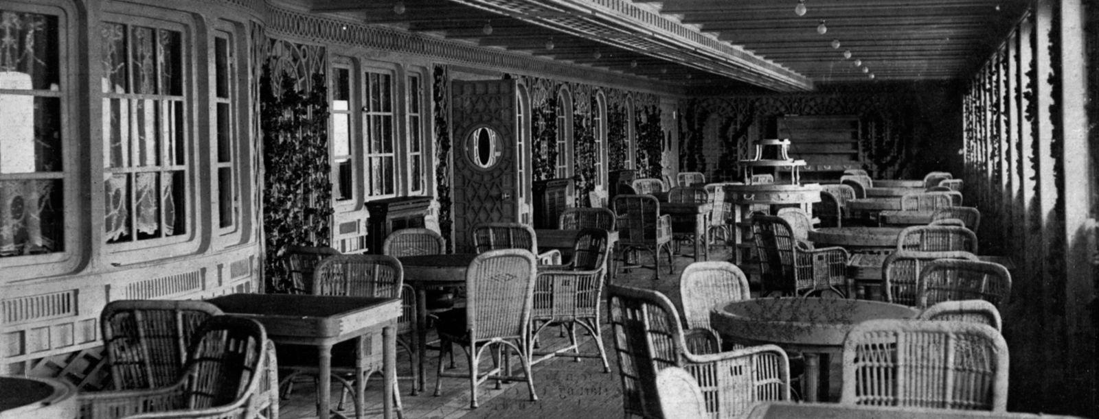 Titanic« Die letzten Fotos vor der Jungfernfahrt   DER SPIEGEL