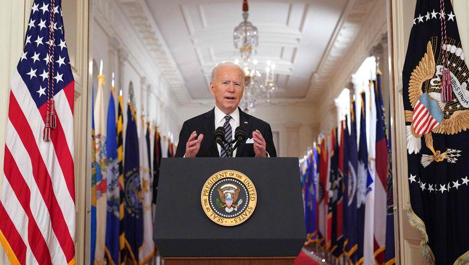 Joe Biden: »Dieser Kampf ist noch lange nicht vorbei«