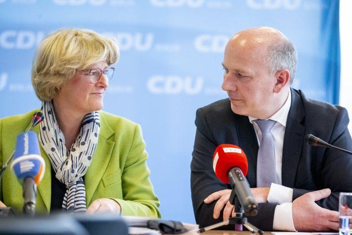 Monika Grütters, Kai Wegner (beide CDU)